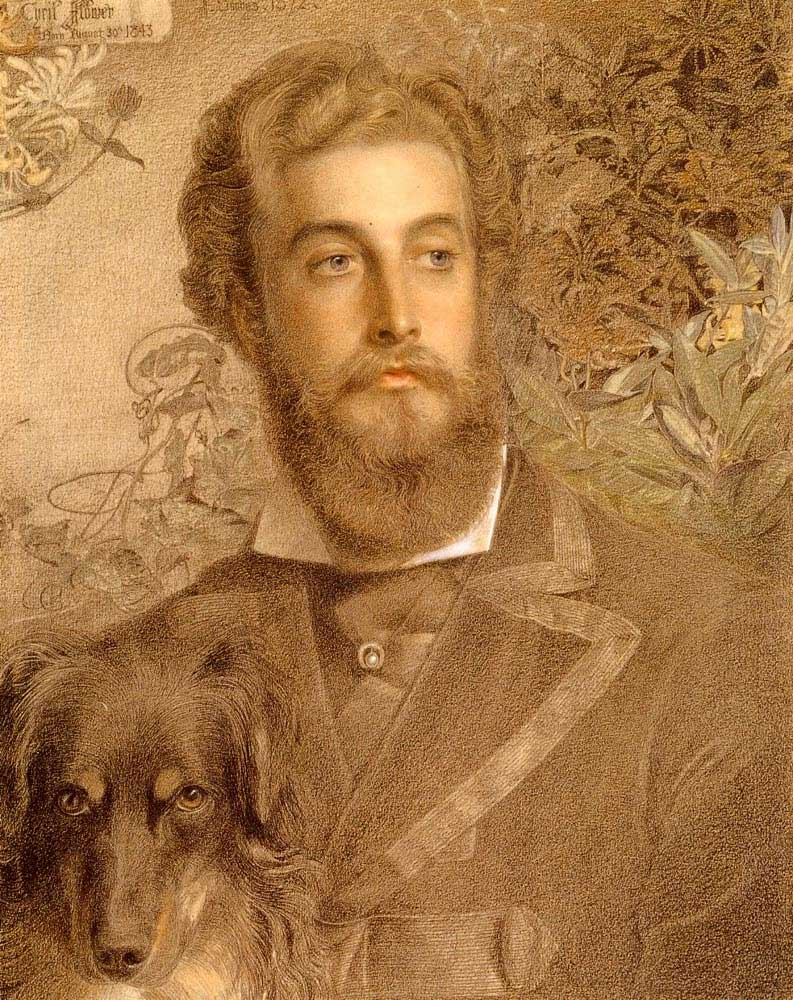 Portrait Of Cyril Flower, Lord Battersea , Anthony